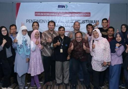 Jalin Kerjasama dengan Media Promosikan BSN dan SNI