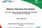 Siapkan SNI Terkait Fine Bubble, BSN Bentuk Komite Teknis Khusus