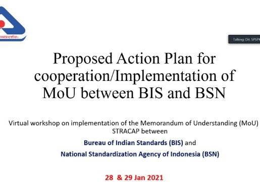 Fasilitasi Perdagangan Indonesia-India, BSN Perkuat Kerja Sama dengan BIS