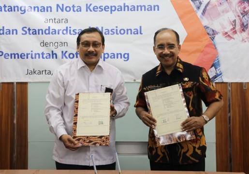 Pemkot Kupang Tandatangani Kerjasama dengan BSN