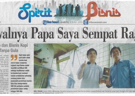 BSN Dorong Kopi Sumsel ber-SNI