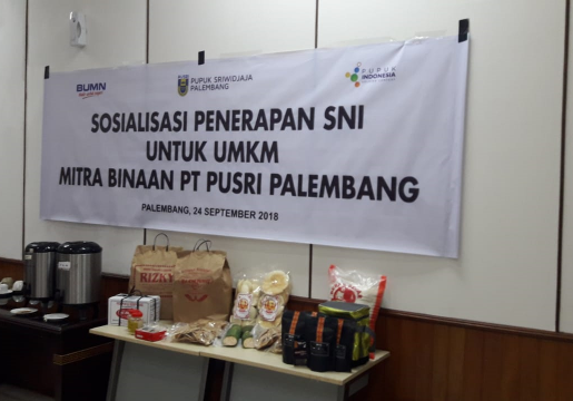 BSN dan PUSRI Siap Kerjasama Bina SNI untuk UKM Sumsel