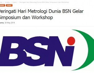 Peringati Hari Metrologi Dunia BSN Gelar Simposium dan Workshop