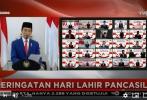 Peringatan Hari Lahir Pancasila Tahun 2020: Pancasila Dalam Tindakan Melalui Gotong Royong Menuju Indonesia Maju