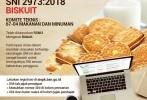 SNI Biskuit Direvisi , Inilah yang Baru