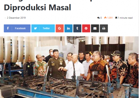 Cangkul Sukabumi Siap Diproduksi Masal