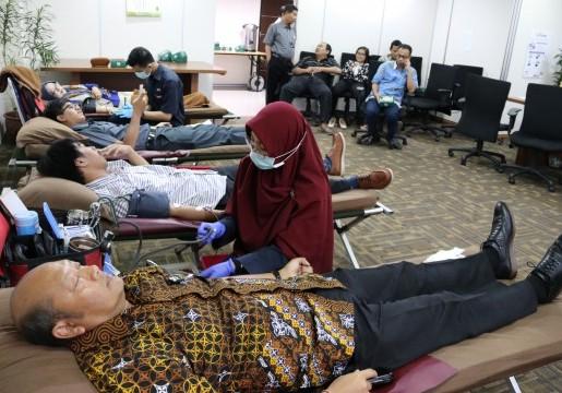 BSN Peduli Sesama Melalui Donor Darah