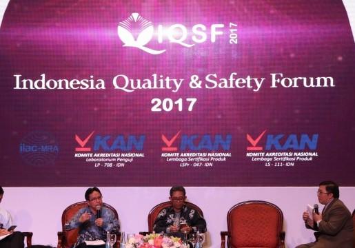 Standar menjamin mutu dan keamanan produk