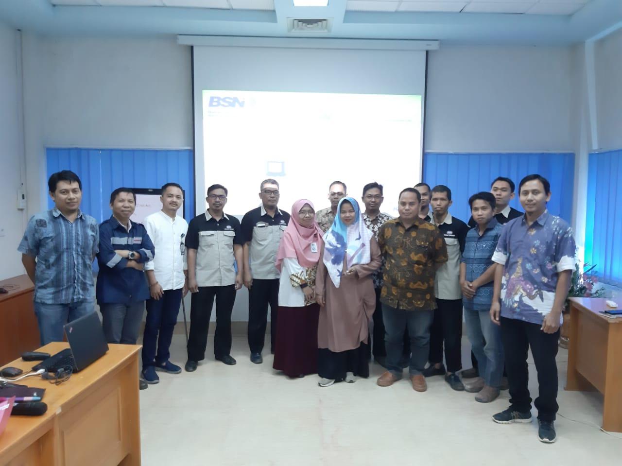 Fasilitatator Peserta SNI Award 2019 oleh KLT BSN Makassar
