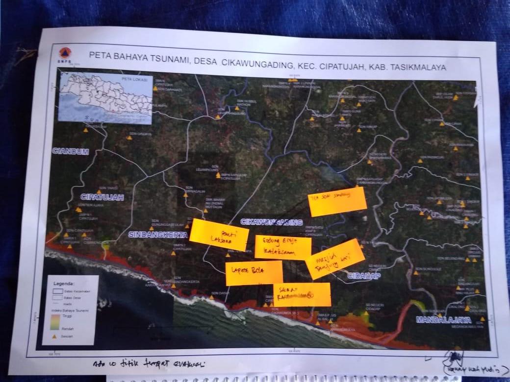 Penerapan SNI 7766 2012 Jalur Evakuasi Tsunami Mendukung