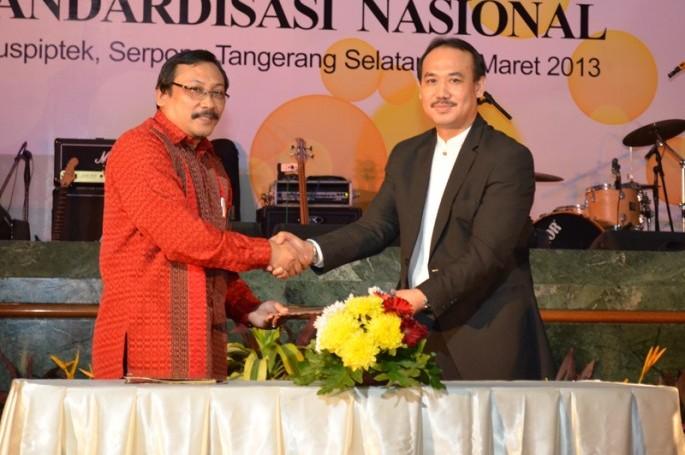 BSN dan LPPOM MUI Jalin Kerjasama