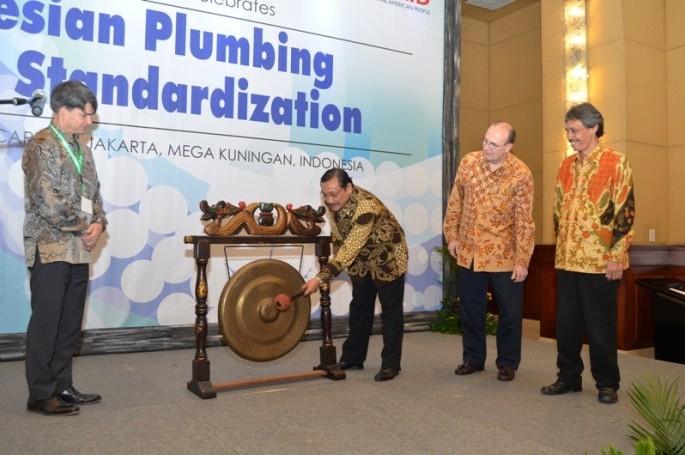 Pembukaan World Plumbing Day di Indonesia