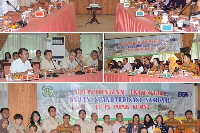 BSN Melakukan Kunjungan Industri Ke PT Pupuk Kujang