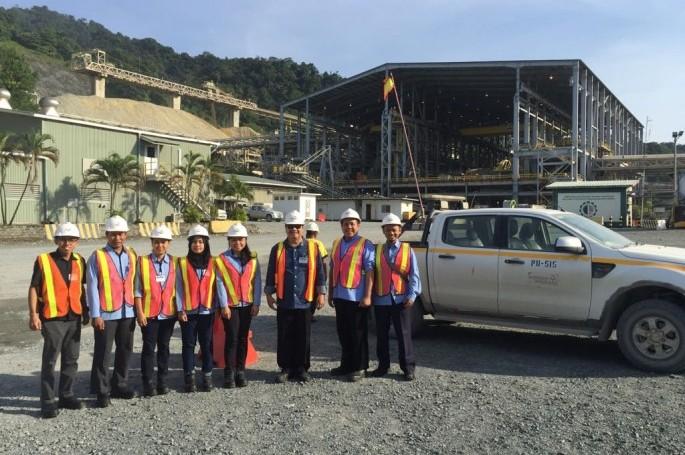 Tim Pusat Perumusan Standar tinjau langsung pengembangan SNI di site Batu Hijau, PT. Amman Mineral Nusa Tenggara