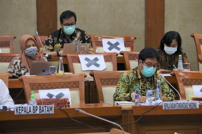 RDP BSN dengan Komisi VI DPR RI Bahas Penyusunan RKA K/L