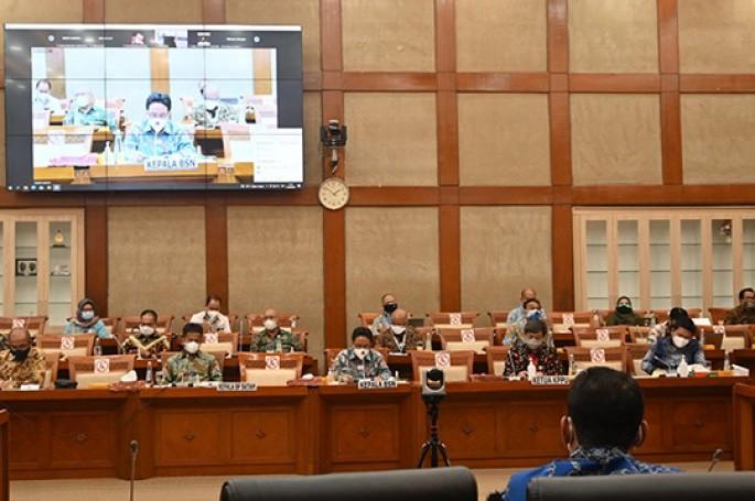RDP BSN dengan Komisi VI