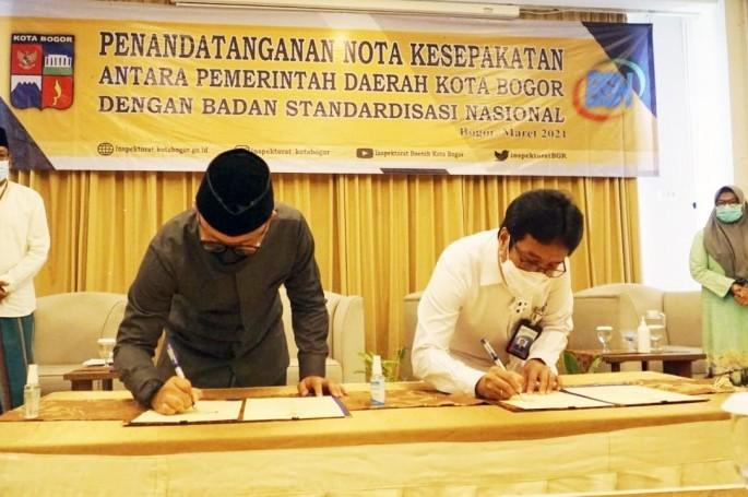 Kerja Sama BSN dan Pemda Kota Bogor untuk Peningkatan Kualitas Layanan Publik serta Daya Saing