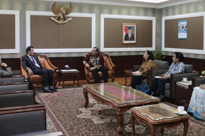 BSN Audinesi dengan Menteri PAN RB