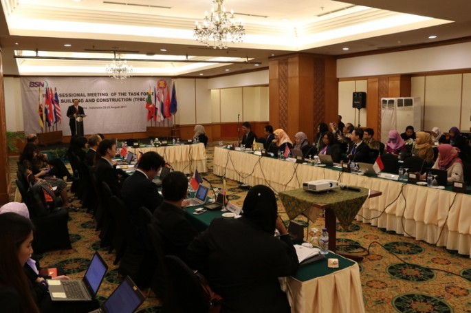 Indonesia Tuan Rumah INTER-SESSIONAL MEETING OF THE TASK FORCE ON BUILDING AND CONSTRUCTION (TFBC) 2017