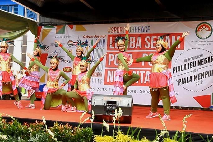 BSN Mengikuti Lomba Senam Poco-Poco Nusantara Kategori Kebugaran