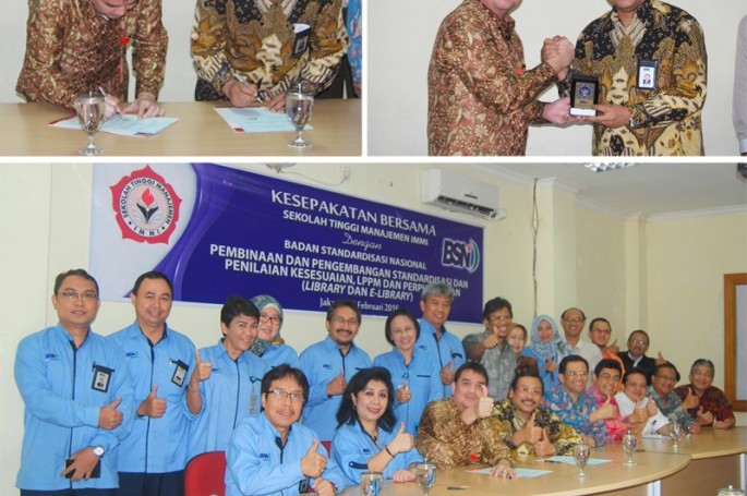 BSN Tandatangani Kesepakatan Bersama Dengan STIMA IMMI
