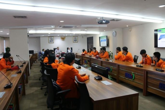 Kunjungan Ilmiah Mahasiswa FT Unika Atma Jaya ke BSN