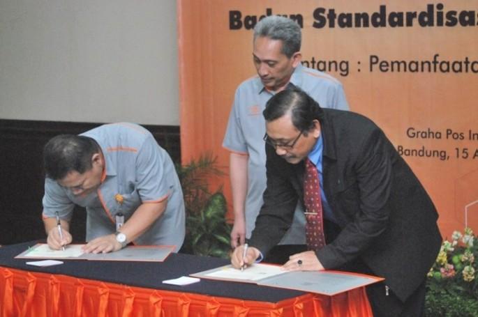 BSN tandatangani Nota Kesepahaman dengan PT. Pos Indonesia