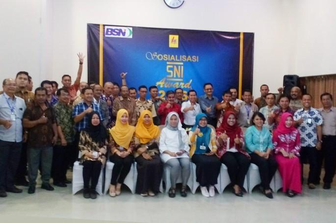 Sosialisasi dan Rekruitasi SNI Award 2016 di PLN Pusat Sertifikasi Jakarta