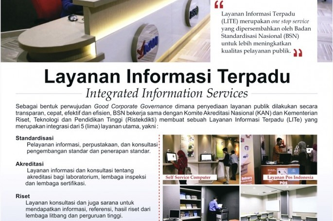 Layanan Informasi Terpadu (LITe)