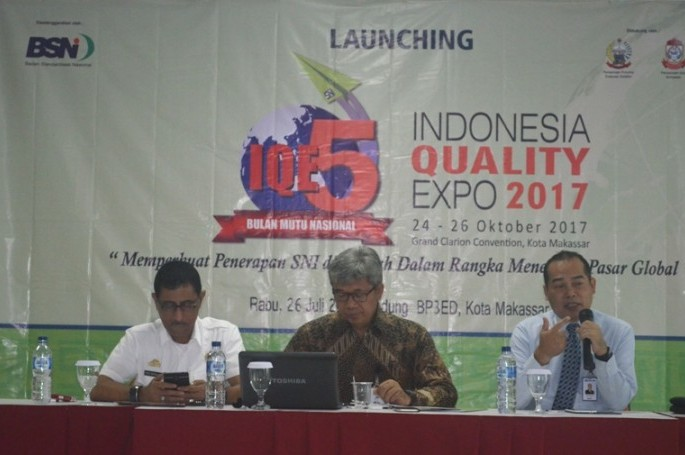 Grand Launching Indonesia Quality Expo (IQE) 2017