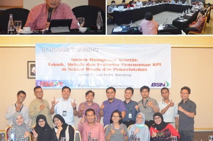 Pelatihan Manajemen Kinerja Bagi karyawan BSN