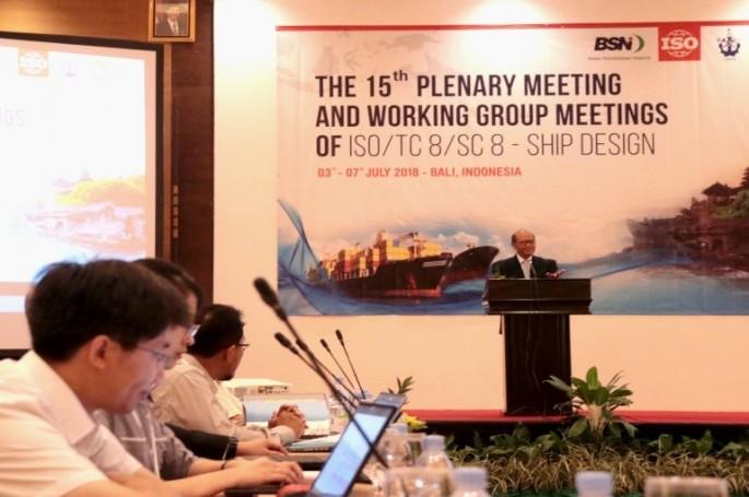Perkuat Poros Maritim, Indonesia Aktif Dalam Perumusan Standar Internasional