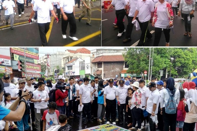 Gerak Jalan Sehat Awali Peringatan Hari Kebangkitan Teknologi Nasional 2016