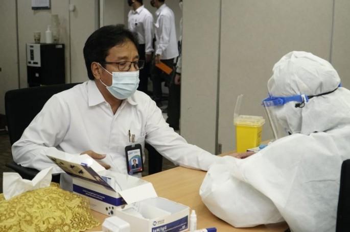 Jaga Kesehatan, BSN Kembali Laksanakan Rapid Test