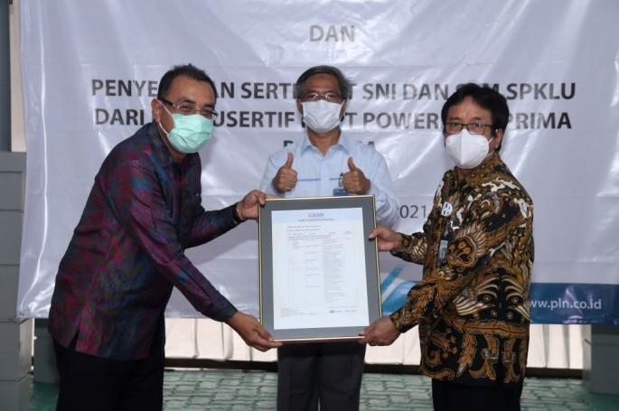 BSN/KAN Beri Sertifikat Akreditasi Kepada Pusertif PLN
