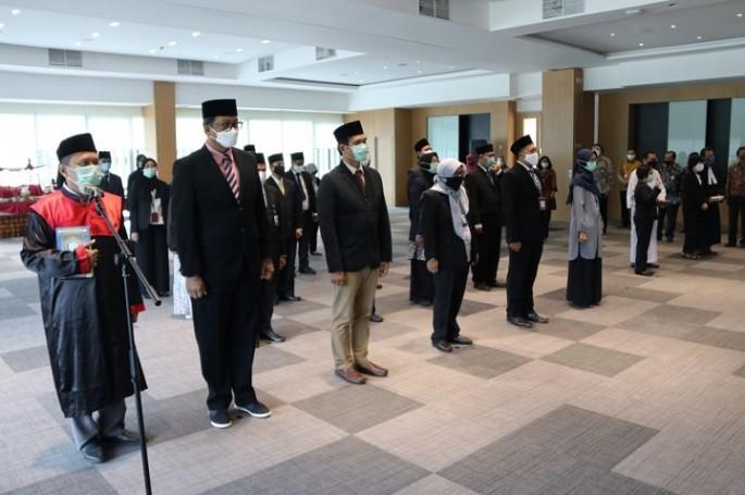 Wujudkan Debirokratisasi, Kepala BSN Lantik Pejabat Fungsional