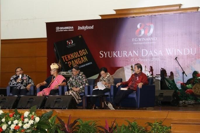 """Peluncuran buku """"Teknologi Pangan: mengangkat citra pangan Indonesia"""""""
