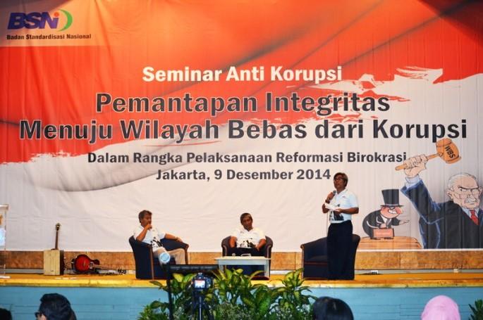 Seminar memperingati Hari Anti Korupsi