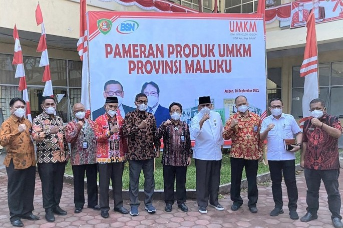 BSN Dorong UMKM di Maluku Raih SNI