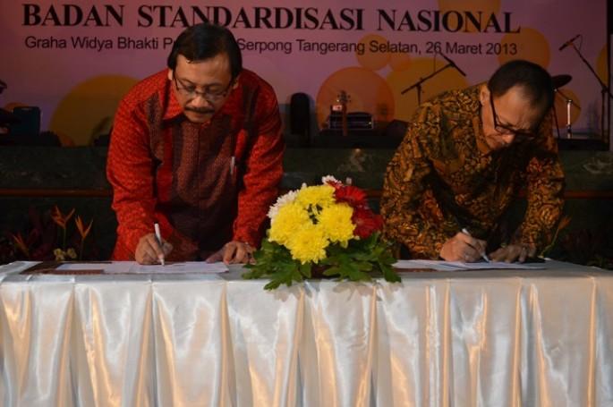 Kerjasama Pendidikan Standardisasi : MoU BSN dengan ITI & Launching Program Magister Manajemen Bidang Kualitas dan Standardisasi USAKTI