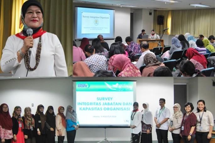 KemenPANRB Survei Integritas Organisasi di Lingkungan Badan Standardisasi Nasional