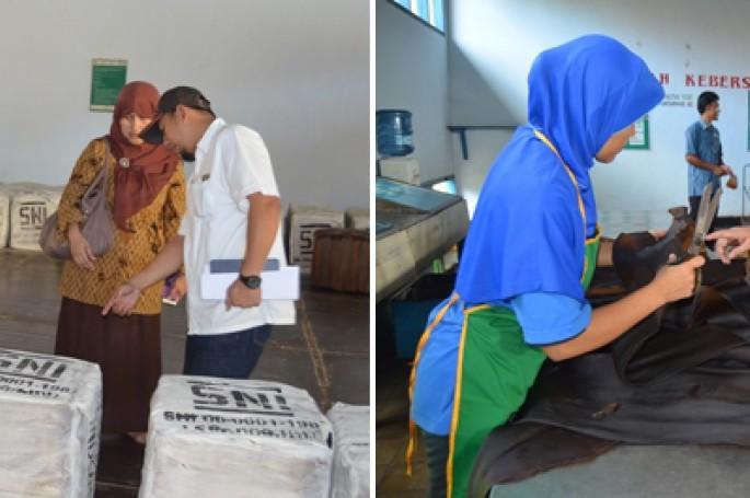 Kunjungan BSN dan Media ke PTPN IX Kebun Krumput