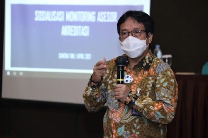 Sosialisasi Monitoring Asesor Akreditasi