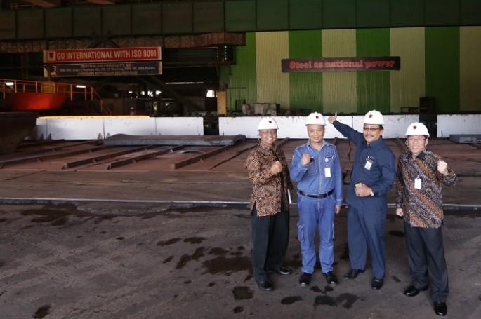 PT. Krakatau Steel Komitmen Terapkan Standar