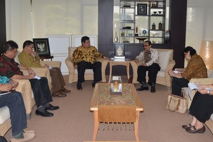 Audiensi Kepala BSN Dengan Menteri Perindustrian