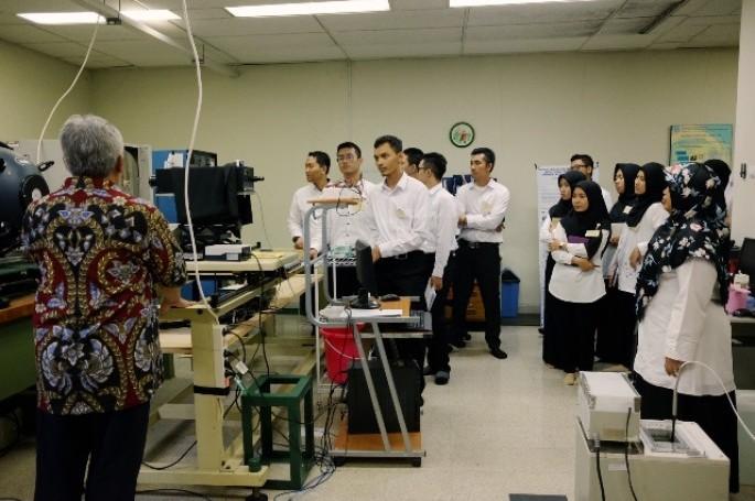 Kenal Lebih Dekat SNSU, CPNS Kunjungi Lab BSN di Puspiptek