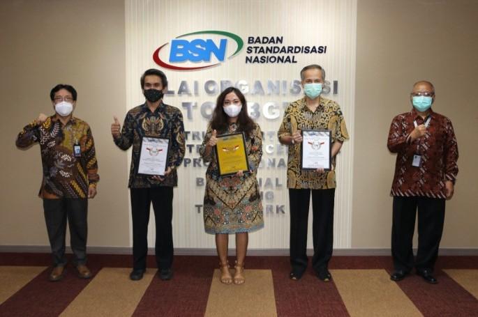 BSN Kembali Berikan Penghargaan Herudi Technical Committee Award di tahun 2020