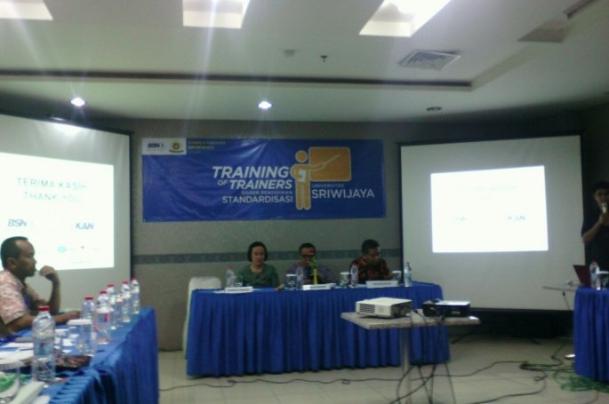 Training for Trainers (ToT) bagi Dosen Pengampu Pendidikan Standardisasi