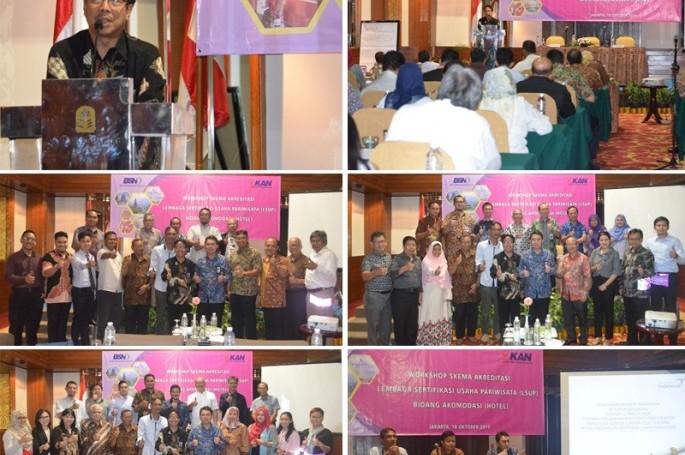 Workshop Skema Akreditasi Lembaga Sertifikasi Usaha Pariwisata Bidang Akomodasi (Hotel)