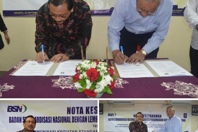 BSN Tandatangani Nota Kesepahaman dengan LPJKN